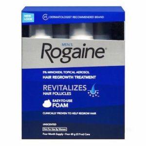 Minoxidil (Rogaine)